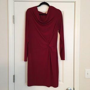 Michael Kors drape front dress